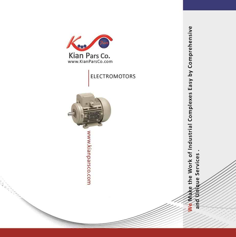 کاتالوگ محصولات کیان پارس اصفهان الکتروموتور
