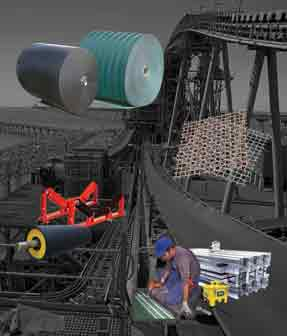 عرضه کننده | belt | convayer belt تسمه نقاله پمپ وکیوم و الکتروموتور